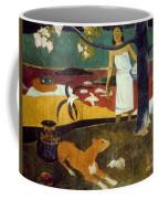 Gauguin: Pastoral, 19th C Coffee Mug