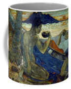 Gauguin: Pirogue, 19th C Coffee Mug