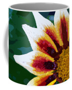 Gazania Flower Design Coffee Mug