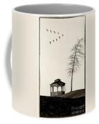 Gazebo And Geese Coffee Mug