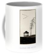 Gazebo And Geese Poster Coffee Mug