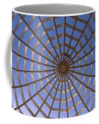 Gazebo Blue Sky Abstract Coffee Mug