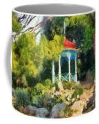 Gazebo In The Nikitsky Botanical Garden Coffee Mug