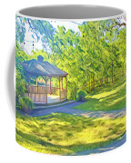 Gazebo On Onion Creek Coffee Mug