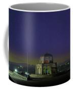 Gazing Stars At Vista House On Crown Point Coffee Mug