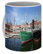 Gdansk Old Town Skyline From The Harbour Coffee Mug