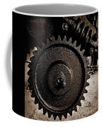 Gear And Screw Sepia 2 Coffee Mug