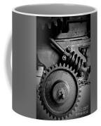 Gear In Monochrome Coffee Mug
