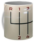 Gear Shift Knob Pattern Coffee Mug