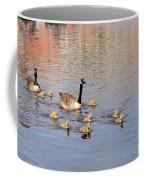Geese And Goslings 3 Coffee Mug