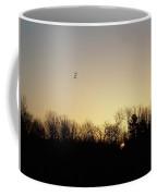 Geese At Sunrise Coffee Mug