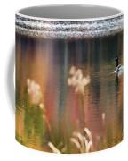 Geese Lake Fall Coffee Mug