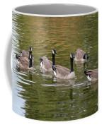 Geese On Pond Coffee Mug