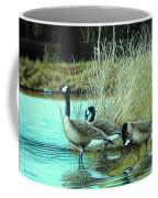 Geese On Watch Coffee Mug