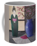 Geisha Doll Coffee Mug