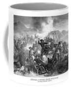 General Custer's Death Struggle  Coffee Mug