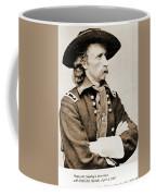 General George Custer Coffee Mug