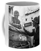 General Patton In Sicily Coffee Mug by War Is Hell Store
