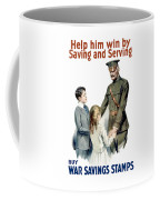 General Pershing - Buy War Saving Stamps Coffee Mug