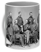 General Sherman And His Staff  Coffee Mug