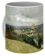 General View Of The Town Of Saint Lo Coffee Mug