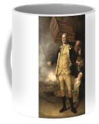 General Washington At The Battle Of Princeton Coffee Mug