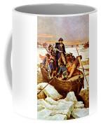 General Washington Crossing The Delaware River Coffee Mug