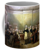 General Washington Resigning His Commission Coffee Mug