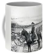 General William T Sherman On Horseback - C 1864 Coffee Mug