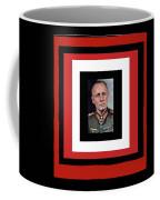 Generalfeldmarschall  Erwin Rommel  In Color Circa 1942 Frames Added 2016 Coffee Mug