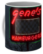 Gene's Hamburgers  Coffee Mug