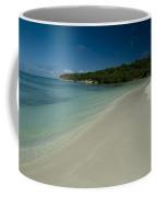 Gentle Surf Rolling Onto A Caribbean Coffee Mug