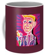 Gentleman W Floweres Coffee Mug