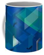 Geometric Composition  Coffee Mug