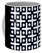 Geometric In Black And White Coffee Mug