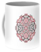 Geometric Mandala Coffee Mug