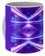 Geometric Street Night Light Pink Purple Neon Edition  Coffee Mug