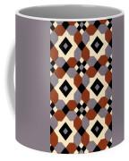 Geometric Textile Design Coffee Mug