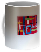 Geometrical Abstract Coffee Mug
