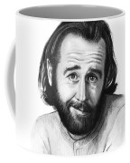 George Carlin Portrait Coffee Mug