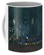 George Luks   Blue Devils On Fifth Avenue   1918 Coffee Mug