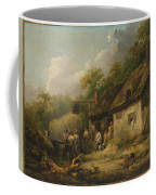 George Morland  The Bell Inn Coffee Mug