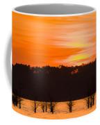 George T. Bagby State Park Sunset Coffee Mug