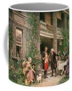 George Washington At Bartrams Garden Coffee Mug