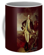 George Washington At Princeton Coffee Mug by Charles Willson Peale