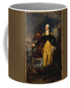 George Washington Before The Battle Coffee Mug