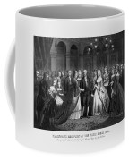 George Washington's Reception At White House - 1776  Coffee Mug