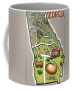 Georgia Coffee Mug