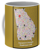 Georgia Loves Dogs Coffee Mug