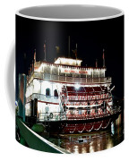 Georgia Queen Riverboat On The Savannah Riverfront Coffee Mug